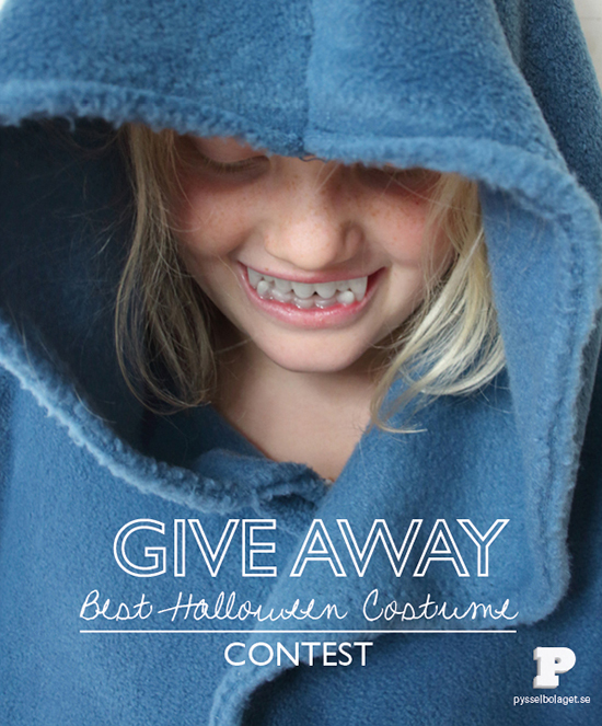 Give away Best Halloween Costume Contest