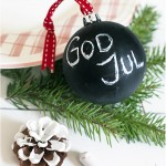 Painted Christmas baubles - by Craft & Creativity