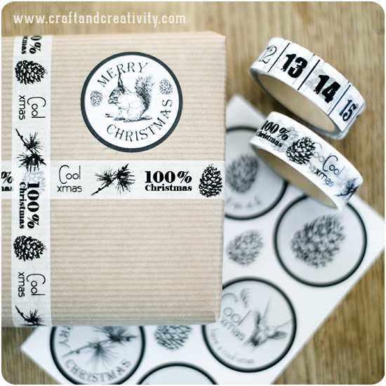 Wood chalkboard tags - by Craft & Creativity