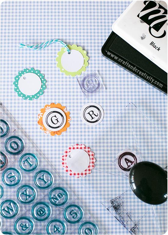 DIY tags - by Craft & Creativity