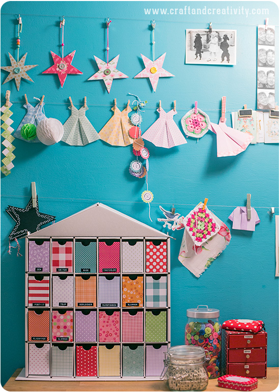 Reuse of Christmas calendar - by Craft & Creativity