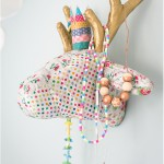 Decorated deer trophy - by Craft & Creativity