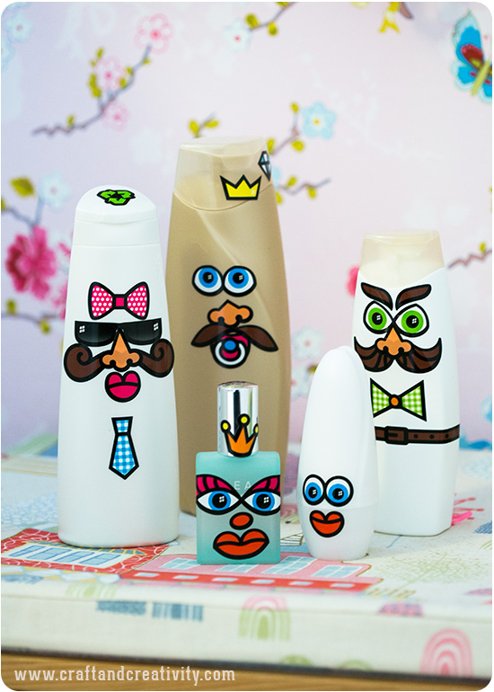 Recycling fun - by Craft & Creativity
