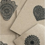 Stamped card & envelopes - by Craft & Creativity