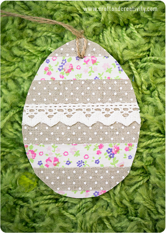 Decorated egg tags - by Craft & Creativity