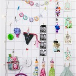 Steel mesh inspiration board - by Craft & Creativity