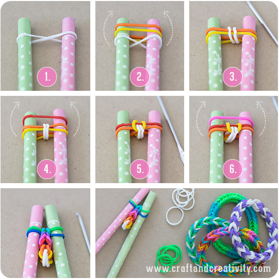 20 MORE Loom Ideas that Rock! #loombands #looming