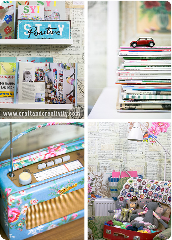 Creative reading space - by Craft & Creativity