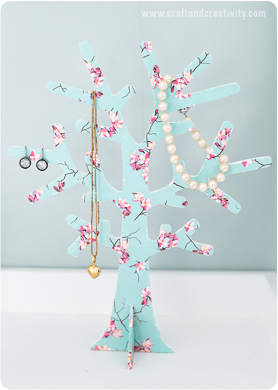 Jewelry tree - by Craft & Creativity