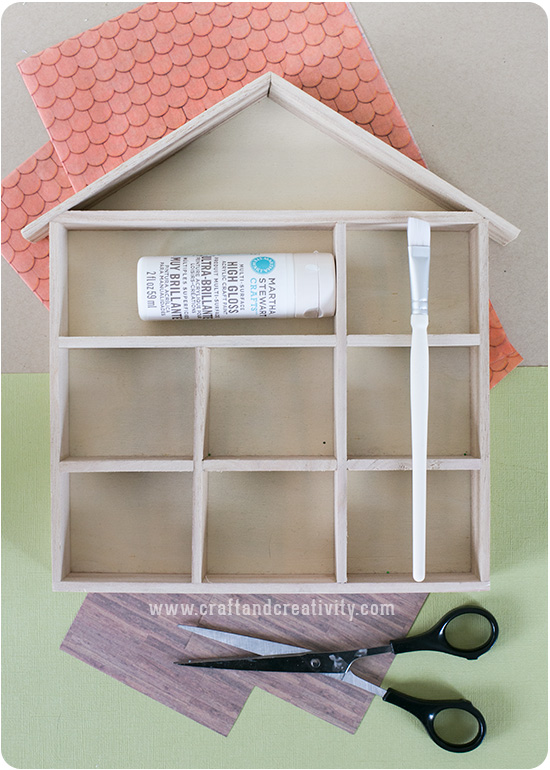 Miniature dollhouse - by Craft & Creativity