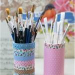 Washi paper & self adhesive fabric - Craft & Creativity