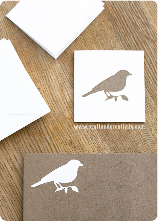 Craft paper stickers - by Craft & Creativity