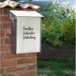 Vinyl Decals for Mailbox - by Craft & Creativity