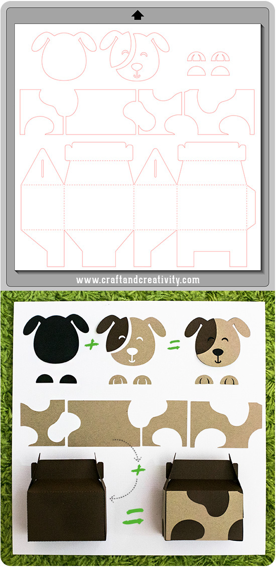 Animal Party Boxes - by Craft & Creativity