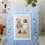 Chalk Paint on frame - by Craft & Creativity
