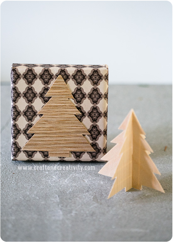 Christmas wrapping ideas - by Craft & Creativity
