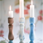 Vintage style candle holders - by Craft & Creativity