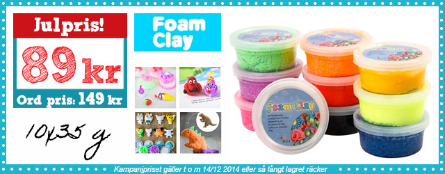 Make & Create - Foam Clay