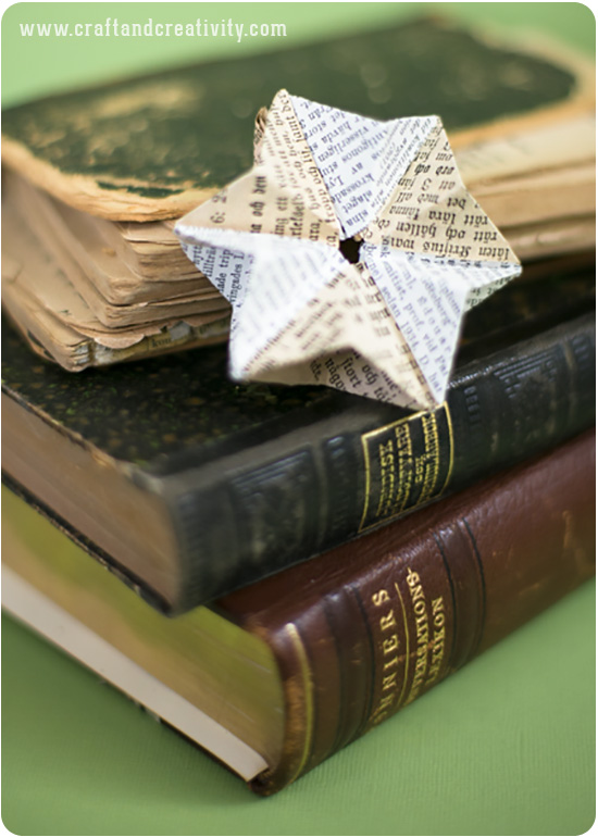 DIY Paper stars - by Craft & Creativity