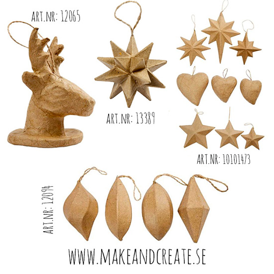 Whimsical ornaments - by Craft & Creativity