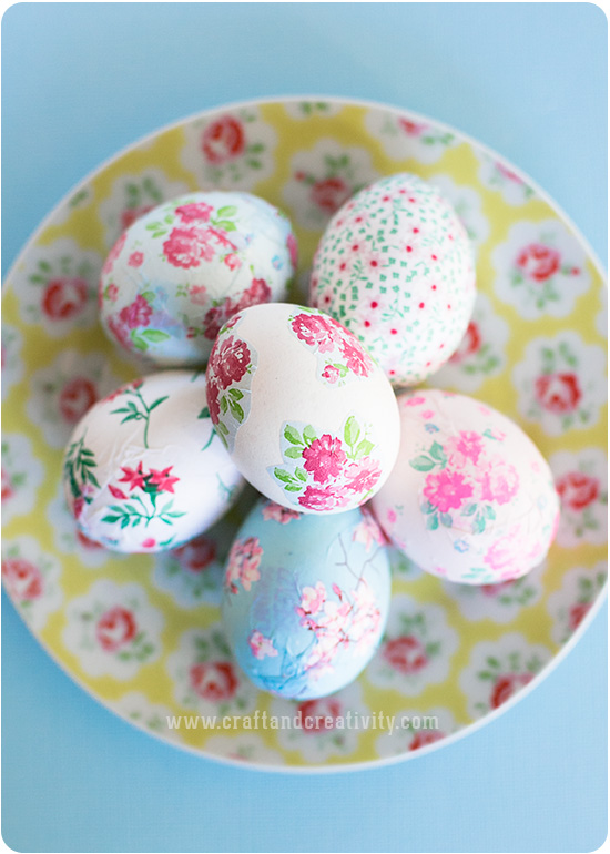 Decoupage Eggs Decoupage Eggs by Craft