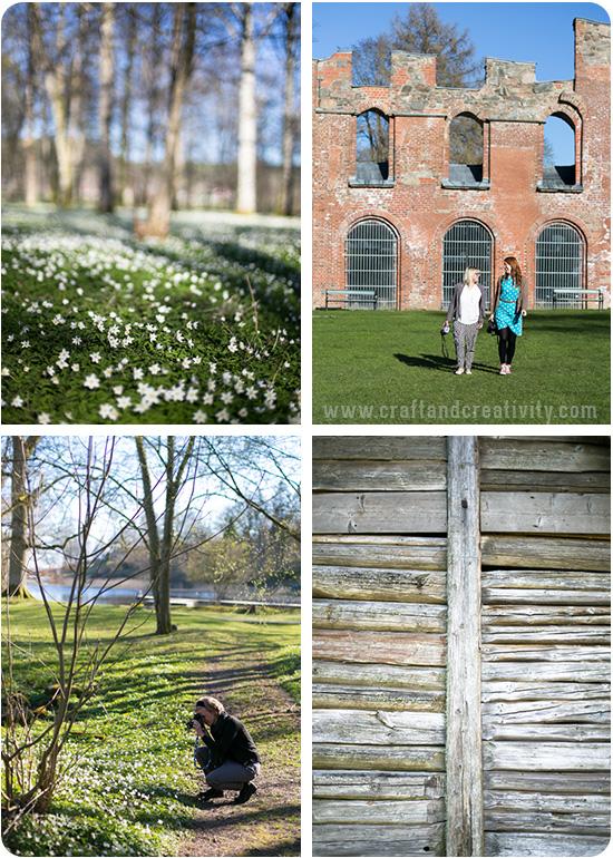 Gräfsnäs slottspark, Västergötland, Sweden - Craft & Creativity