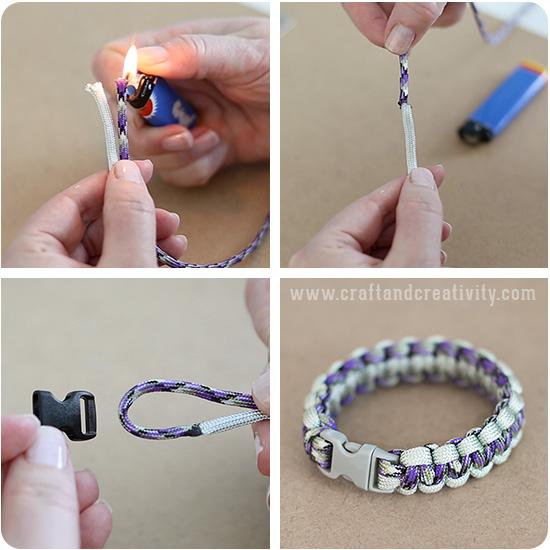 Basic Paracord Bracelets - by Craft & Creativity