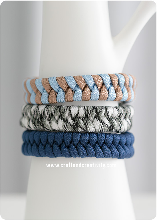 Fishtail bracelet - by Craft & Creativity