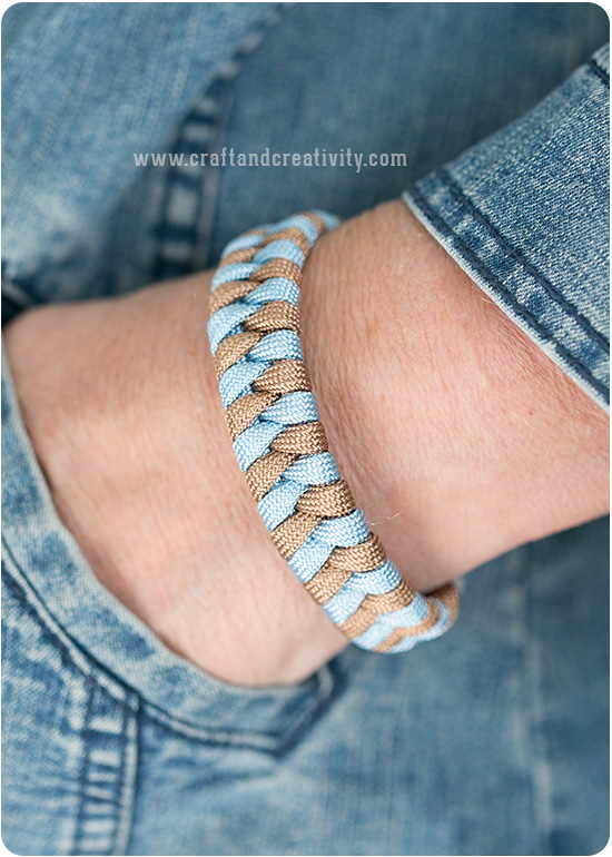 Fishtail bracelet - by Craft & Creativity