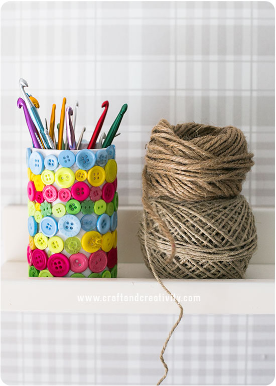 Linen twine baskets - by Craft & Creativity