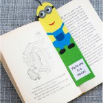 Minion bookmarks with template - by Craft & Creativity
