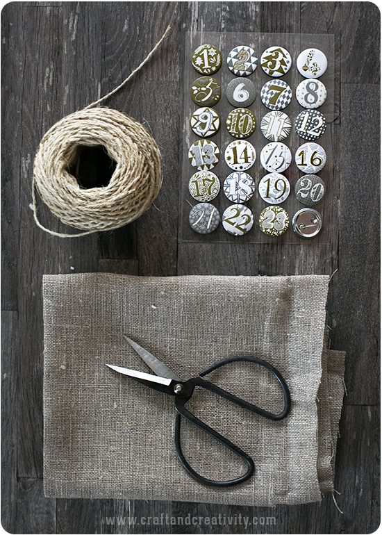 DIY Advent Calendar - by Craft & Creativity