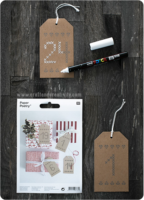 Advent calendar - by Craft & Cretivity