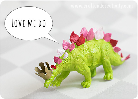 Dinosauriepyssel från Craft & Creativity