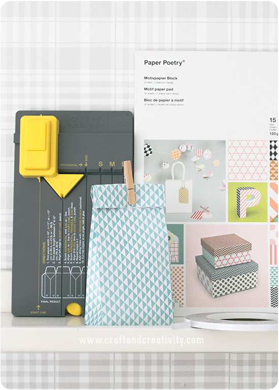 Gör egna presentpåsar - Craft & Creativity