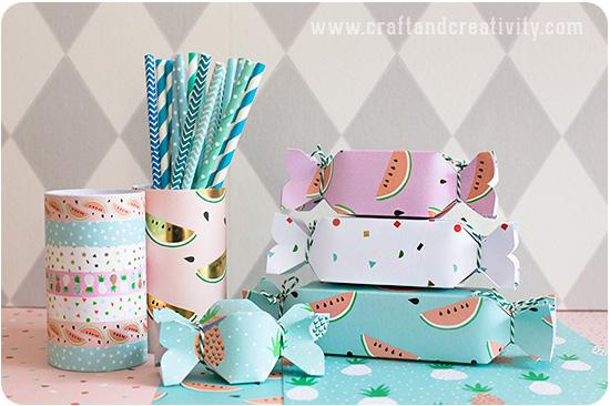 Pennställ i pastell av Craft & Creativity