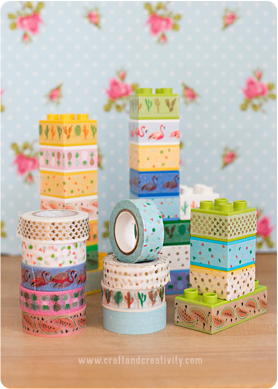Washitejpat Duplo – LEGO Duplo with washi tape