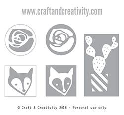 Gör dina egna stämplar - av Craft & Creativity