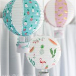 Luftballonger av rislampor - av Craft & Creativity