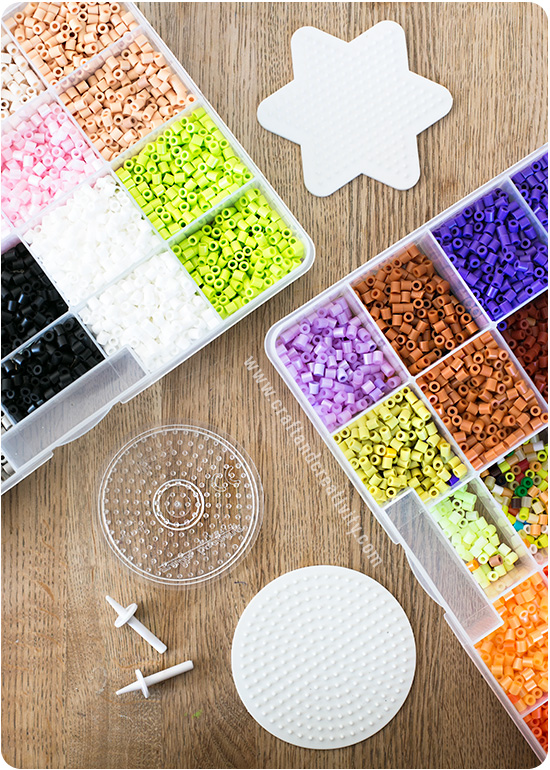 Nabbi bead spin tops - by Craft & Creativity