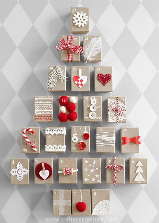 Gift Box Advent Calendar - by Craft & Creativity