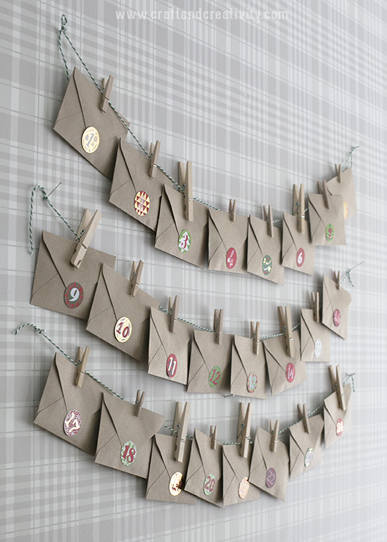 Tea Advent Calendar - by Craft & Creativity